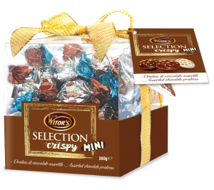 Selection Crispy mini mix - Cubo 300g
